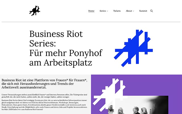 Business Riot Series
