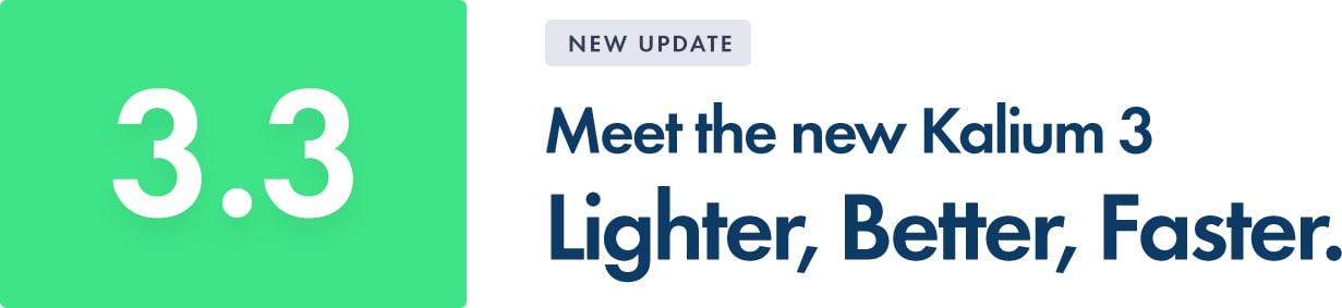 New BIG Update — Kalium 3.3